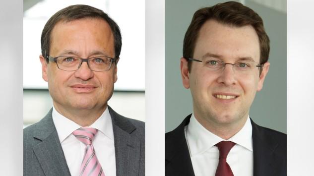 Christoph Wetzel und Martin Weldi